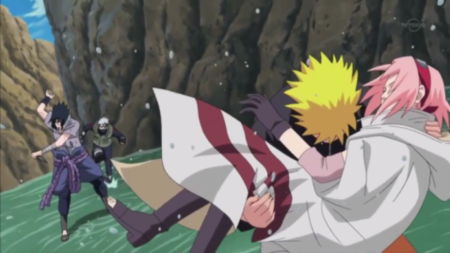 Why did Sasuke marry Sakura, and why did Naruto marry Hinata