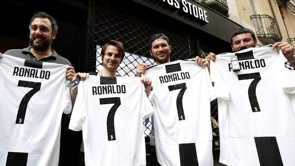 f7c9f162320 So, Cristiano Ronaldo will probably like to be given the No. 7 shirt at  Juventus.