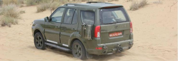The TATA Safari Storme is now the Indian army's official