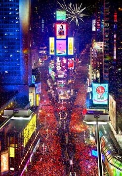 What is it like to spend New Year's Eve in Times Square ...
