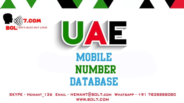 How database business like mobile numbers and email ID's happen in