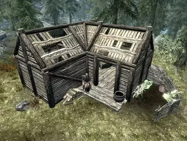 Building A House In Skyrim Remastered You