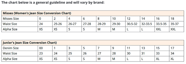 Womens Size Chart Conversion: How to convert juniors7 clothing sizes to girls7 or womens7 sizes rh:quora.com,Chart