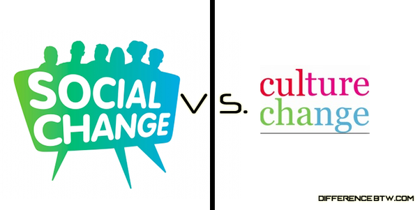 What Is The Difference Between Social Change And Cultural Change