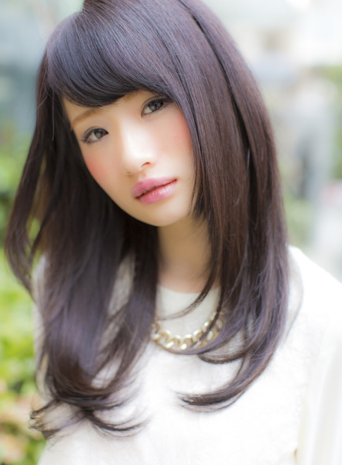 Why Do Japanese Like Hairstyles With Blunt Bangs Quora