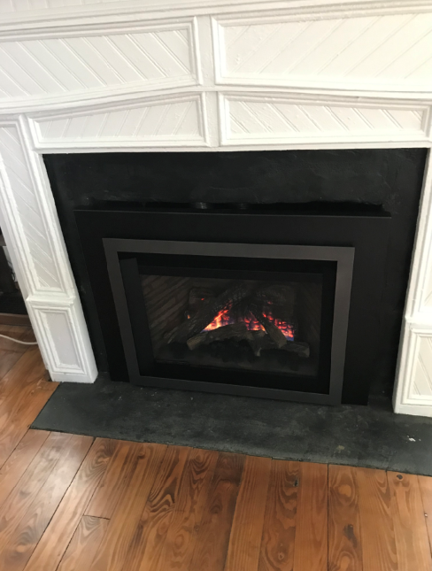How To Frame A Gas Fireplace Insert In An Existing Masonry