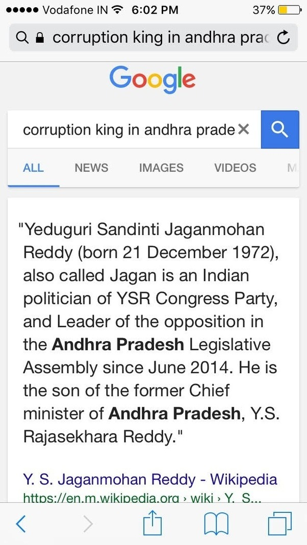 Who Are The Worst Candidates In Andhrapradesh Politics Quora