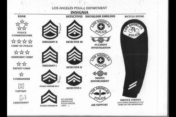 Law Enforcement Ranks >> Who Gets Two Stars On Their Uniform In A Police Profession