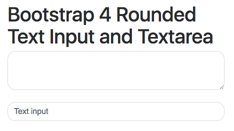 How To Create A Rounded Text Box With Bootstrap Quora