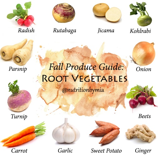 What Are All Those Colorful Root Vegetable They Put On Your Plate