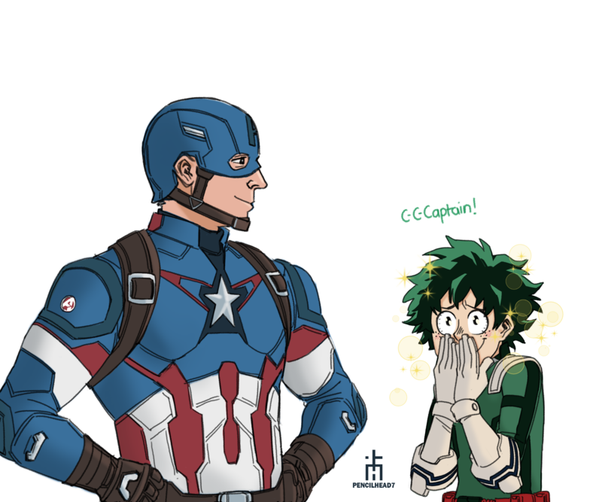 How would All Might from My Hero Academia fit in the Marvel Universe