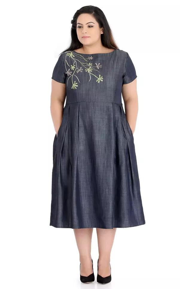 Can I Get A Denim Dress In 3xl Quora