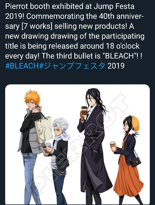 Bleach New Season 2020 Do you think the rumors about Bleach anime returning in 2019 are
