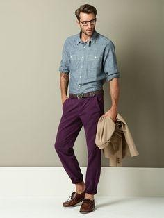 Which Color Shirt Suits On Purple Pants Quora