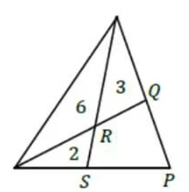 How To Solve The Area Of A Quadrilateral Inside A Triangle Quora
