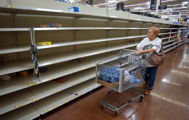 Did some Soviet Union grocery stores have long lines and empty shelves like the current Venezuela? - Quora