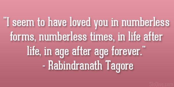 Did Rabindranath Tagore really deserve a Nobel Prize? - Quora
