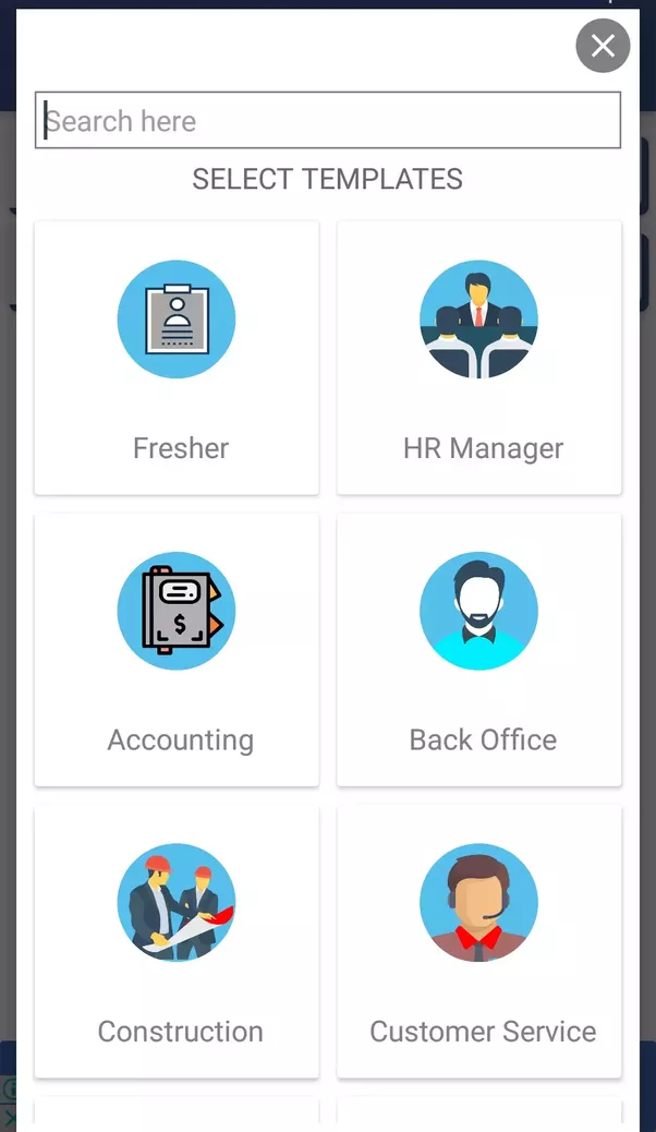 to create awesome resumecv and the best part is it is absolutely free below i have mentioned screenshot of app so that you can find it easily - Free Resume App