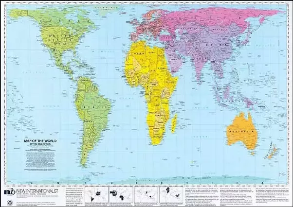 Why isnt our world map made to look like this quora transverse mercator gumiabroncs Gallery