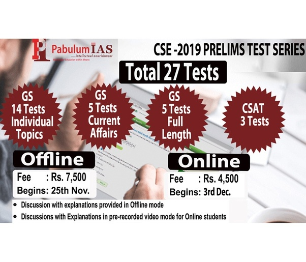 Which is the best test series for the UPSC Mains? - Quora