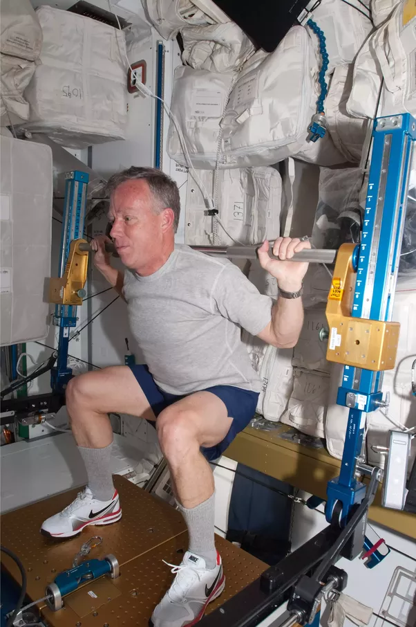 do astronauts in the space station experience gravity - photo #38