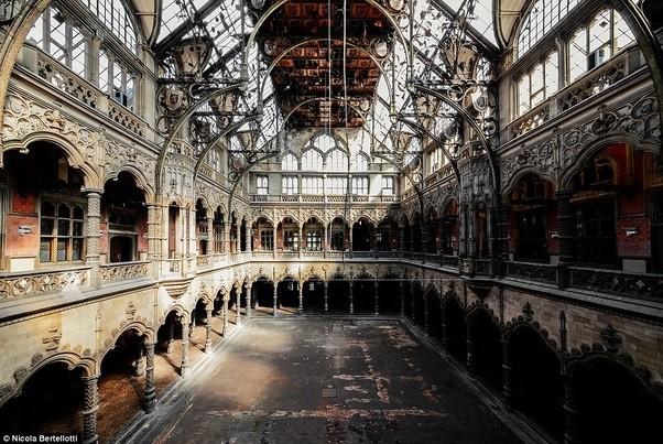 Beautiful I Am An Avid Fan Of Nicola Bertellotti, An Italian Photographer Who Travels  Across Europe To Capture The Beautiful Decay Of Crumbling Ruins.