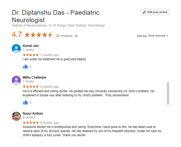 Who is the best pediatric neurologist in India? - Quora