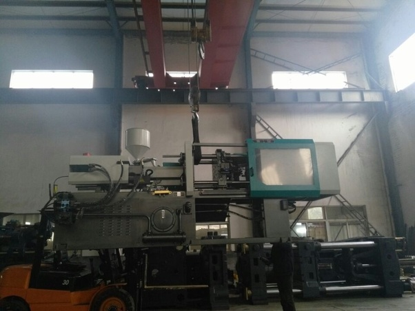 What type of small injection molding machine can make 6