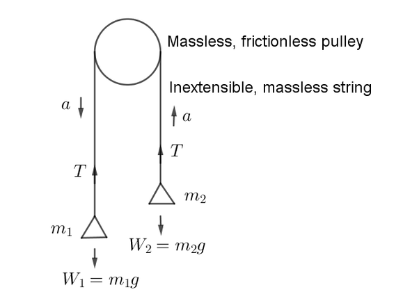 tension diagramme what is the relationship between the tension and acceleration in a  relationship between the tension