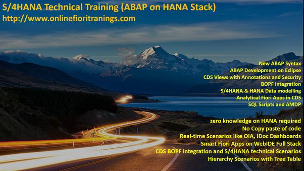 What is SAP S/4 HANA (Simple Finance) Online Training? - Quora