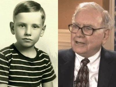Image result for warren buffett childhood
