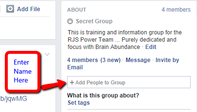 How to add people to a Facebook group when creating a profile Quora