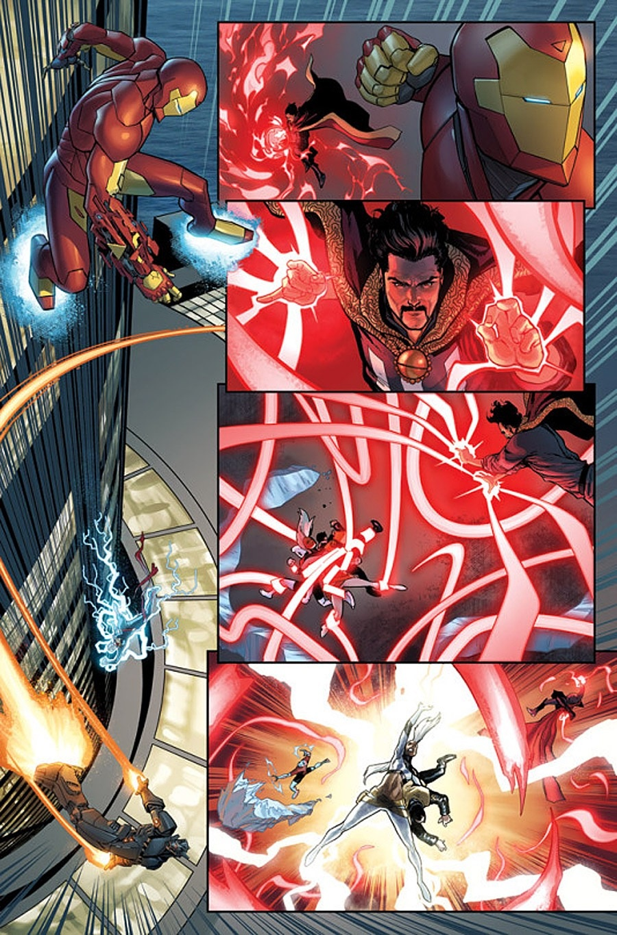 What is the difference in the powers of Doctor Strange and