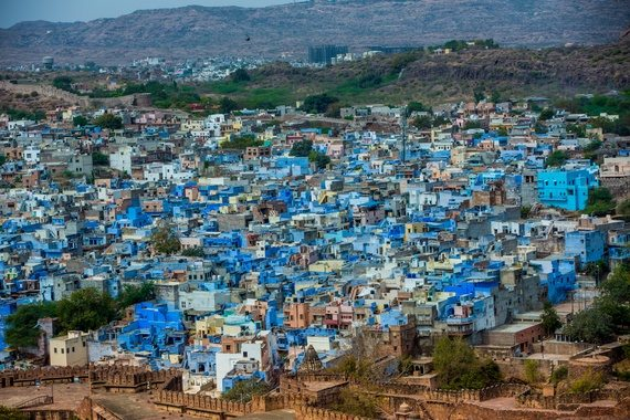 This Is How Our Blue City Looks