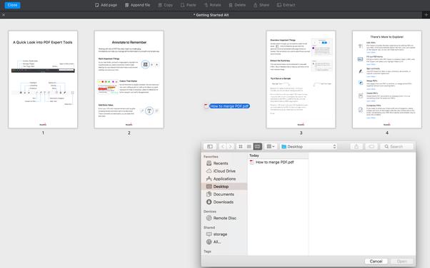 pdf files merge software free download
