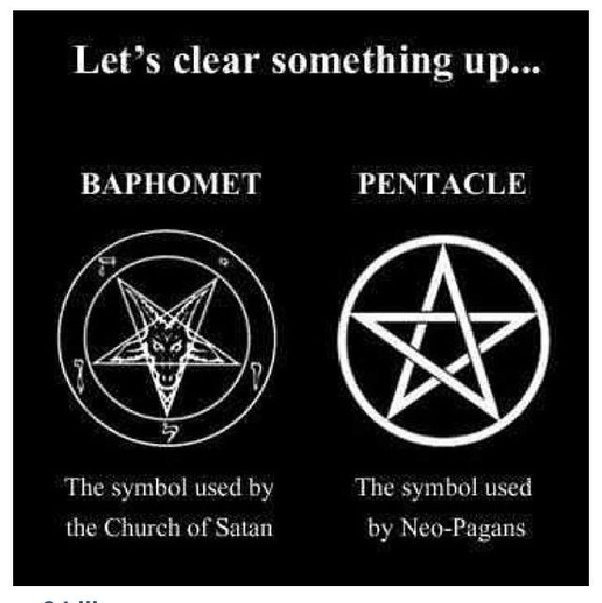 Why Is A Pentagram Inside A Cross Associated With Satanism Quora