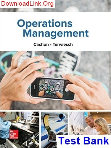 Operations Management William Stevenson 11th Edition Pdf