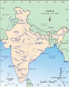rivers like sabarmati in gujarat juari and mandovi in goa bharathappuzha in kerala also drain in the arabian sea