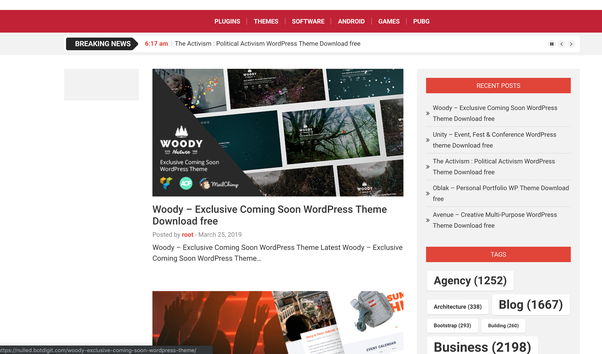Which is the best website to download nulled WordPress themes and