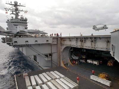 Could Aircraft Carrier Hangar Elevators Be Made Turntable