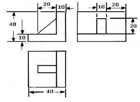 Why Do We Use 3rd Angle Projection In Engineering Drawing Quora