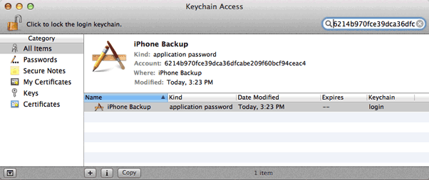 How to retrieve a forgotten iTunes backup password for iPhone - Quora