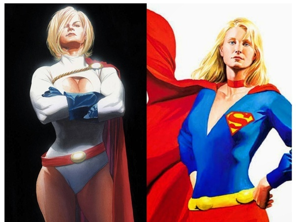 as supergirl girl Power