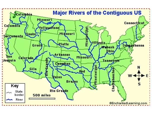 What Are Some Countries Which Have Extreme Dependencies On Any - Country with most rivers in the world