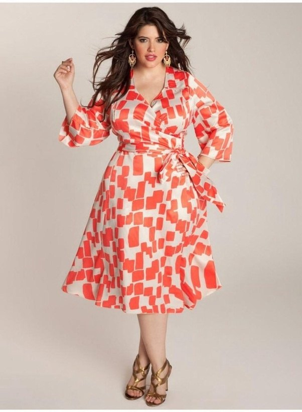fat girl party frock