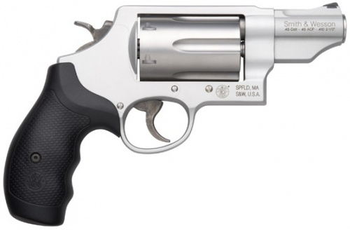 Is there a handgun that shoots shotgun shells? If there was