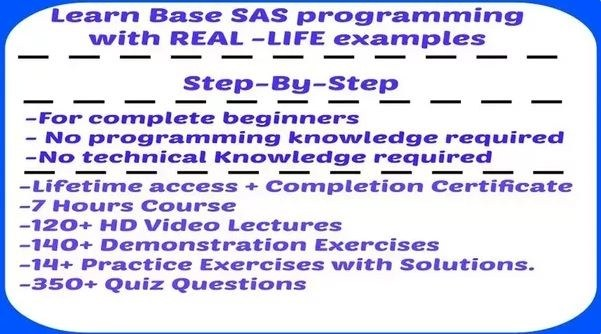 Where can i find online sas base programming practice questions quora you can get complete base sas material from scinatics fandeluxe