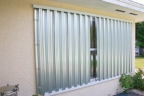 What Metal Are Hurricane Shutters Typically Made Out Of