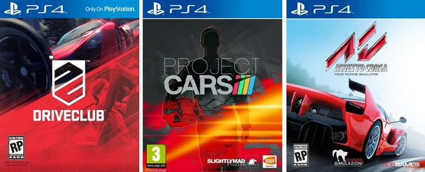 What Ps4 Racing Games Are Compatible With Compact Wheel Quora