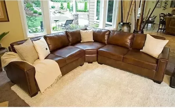 L If You Have These Darkrust Coloured Sofas In Your Living Room Then It  Keeping With A Variety Of One Or Two Colours Max Will Be Enough Can Use